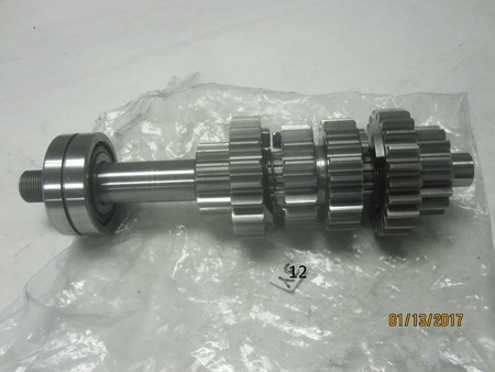 "TRANSMISSION GEARS AND SHAFTS : 10.5"" long On the bearing:  5305x2nx3w3-ic3 japan ey ntn"