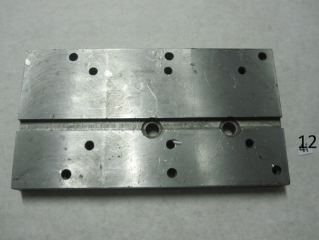 "Plate for Lathe Machine?  : 11"" x 6""  x 1"" none"