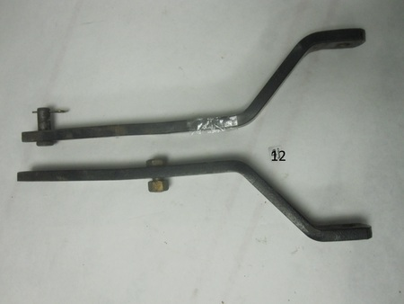 "Lawn Tractor Bar Hitch Brackets / Tow Bars : 16"" long, x 1-1/2"" none"
