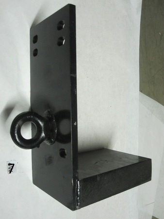 """weight tow plate hook eye : 13"""" x 6""""  none"""
