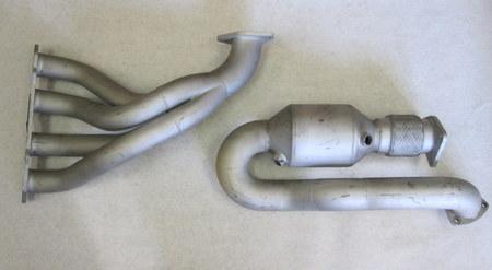 Exhaust Header  : height: 13.5in length: 20.5in diameter: 2.5in none