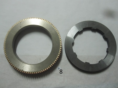 """friction  plate & discs : 95 teeth, friction plate is 11-3/8"""" none"""