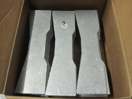 """Aluminum Plates : 11-3/4"""" x 3-1/4"""" none"""