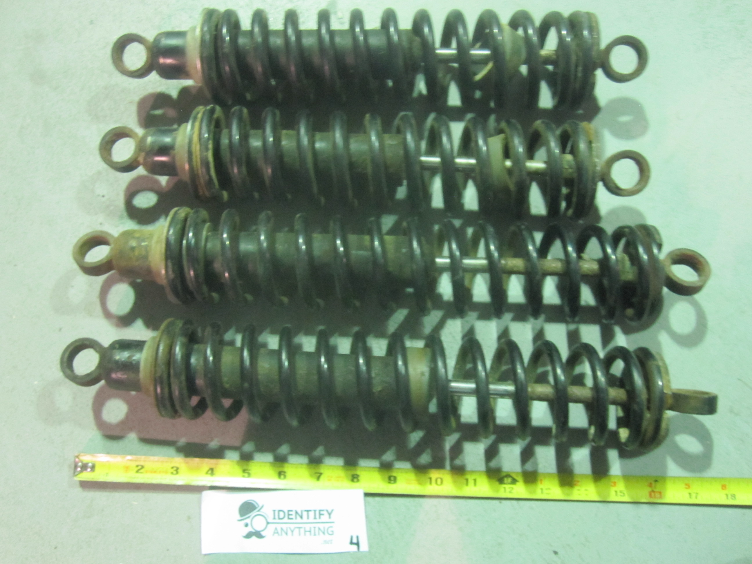 These are shocks for a 1998 Arctic Cat 500 4x4 ATV quad  The