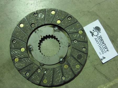 Clutch Friction Disc : please see pictures none