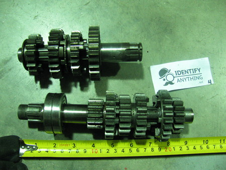 Transmission Gears : please see pictures none