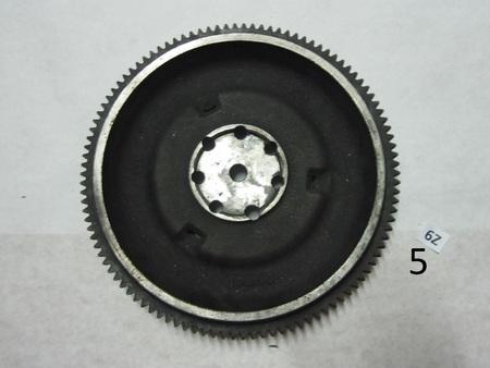 Flywheel : 106 teeth 2X06 G1 K2
