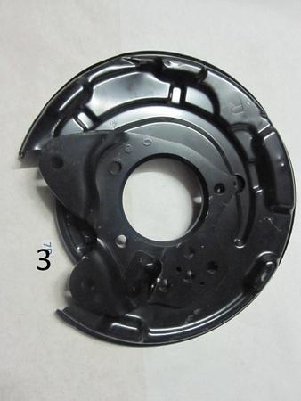 """Brake Backing Plate : 14"""" R"""