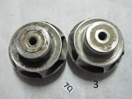 "PUMP IMPELLER : 4"" in diameter, center 1/2"" threaded M13932"