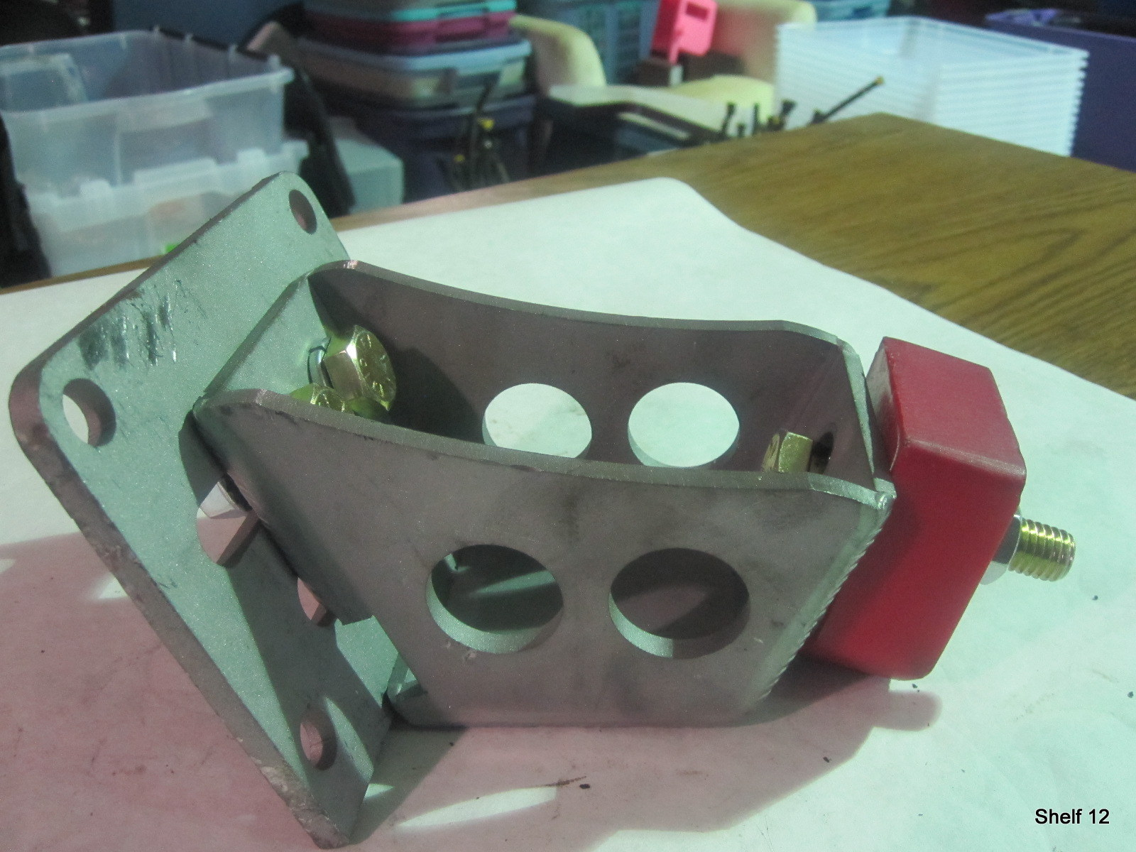 These are special motor mounts for swapping a Chevy LS