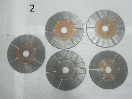 """11"""" Friction Disks   : 11"""" , 1-3/4"""" bore none"""