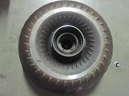 "torque converter : 28 spline, 50/spline/teeth, about 13.5"" in diameter  v1790"