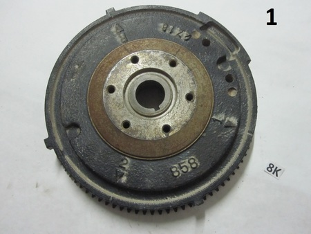 Flywheel : 89 teeth 858 2z18