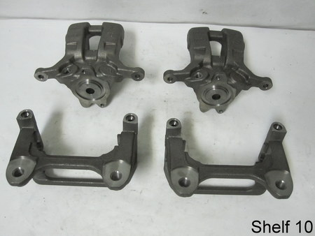 "Brake Calipers : 5.5"" x 7"" x 4"" / 7"" x 5"" x 4"" A1200 Mando GM 0889 0869"