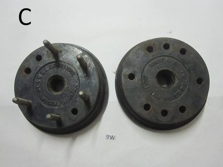 Wheel Hubs : none  Made In Japan Max 182mm