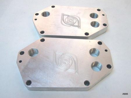 Billet Aluminum Oil Cooler Plate? : NA NA