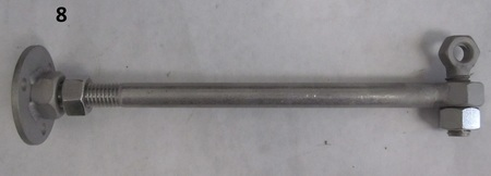 """Stainless steel bolts : 9"""" long none"""