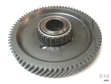 "Transmission Drive Gear?  : 6-3/8"" diameter 1-1/4"" shaft bore, 74 Tooth. 20mm thick. NA"