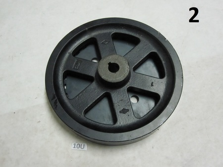 "Flywheel ?  harmonic balancer? : 8"" diameter  briggs stratton log?"