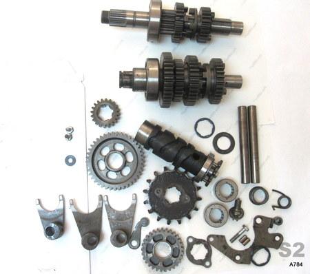 Honda Motorcycle Transmission Gears : na na