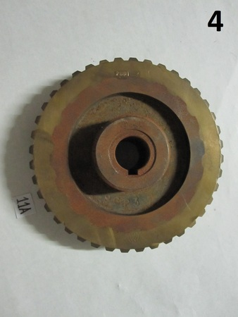 "Gear : 7"" 9623 2001 and a logo, please see photos"
