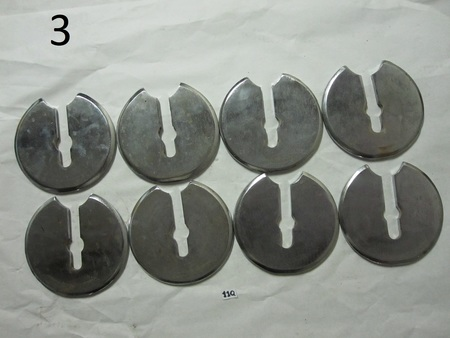 "Weight Plates ? : 6-1/4"" dimeter none"
