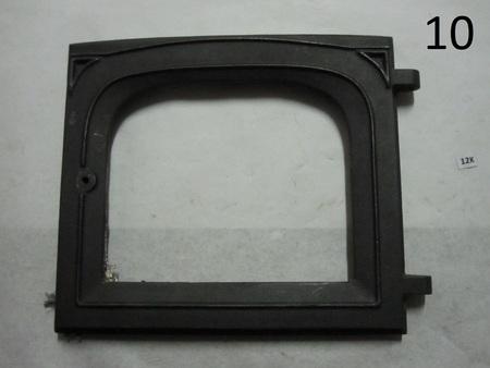 """cast iron stove furnace door : 16-1/2"""" x 14-1/2"""" ks2X"""