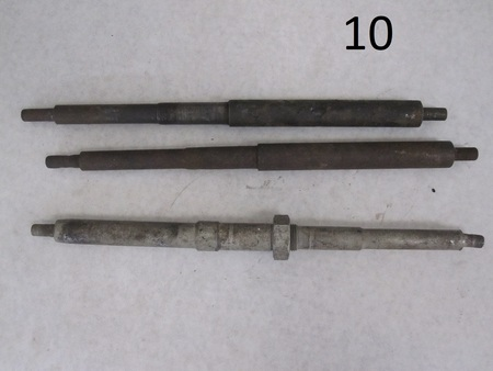 """axles? : about 12"""" long none"""
