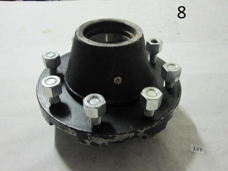 Wheel Hub 8x8 8 lug : 8x8 8 lug, smaller pattern is 5x5  none