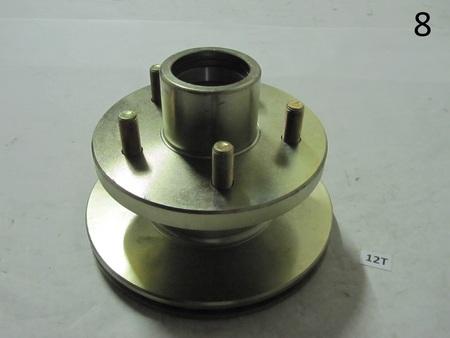 Wheel hub Rotor : 5x115mm and rotor 191mm or 192mm 210102