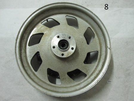 Motorcycle Rim and rotor : rotor is 292mm, so its probably as harley,  none