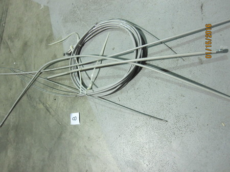 "Throttle Cables : ~38-1/2"" OAL None"