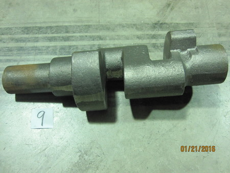 "Crank shaft cast : ~11-1/2"" OAl None"