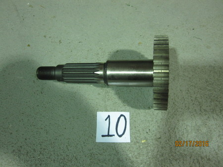 "Pinion Gear? w/ 36 teeth : 5"" OAL, gear has a 2-1/2"" diameter QJ"