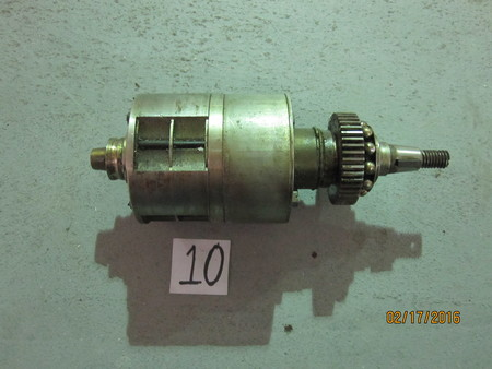 """Motor : ~7"""" long, ~2-1/1"""" at widest point None"""