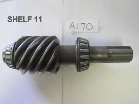"""Worm Gear & Cup bearings : 9-1/8"""" OAL Timken 02875 & NTN 4T-LM67045Bearings"""