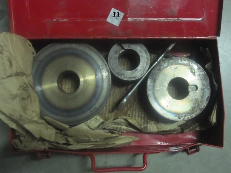 "?? dies ?? with sizes 3 5 6 &  6208z  Bearings : 3"" 5"" 6"" on each one: 3, 5, 6   & 6208z  on the  Bearings"