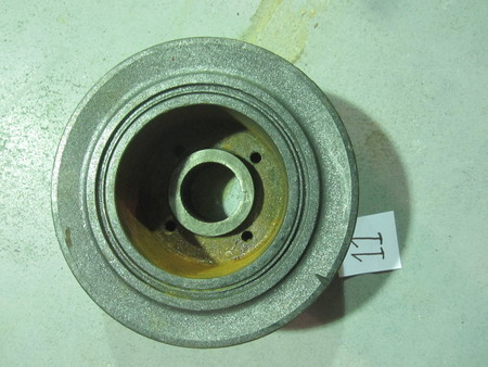 "Harmonic Balancer : Diameter is approximately 6-1/2"" and the measurement of the side from top to bottom is approximately 2-1/2"" none"