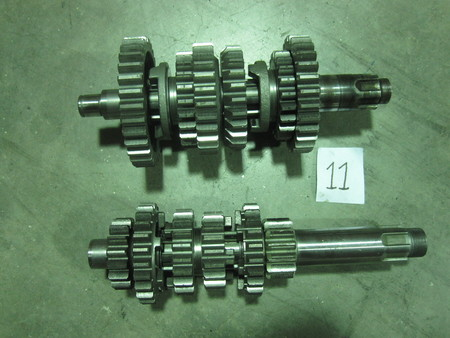 """Timing Gears : Longest is approximately 8-7/8"""" and Shortest is approximately 8-1/4"""" none"""